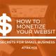 pensacola digital marketing tips :how to monetize your website pensacola digital marketing tips