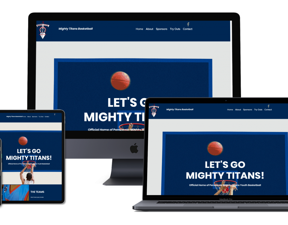 mighty titans pensacola web design