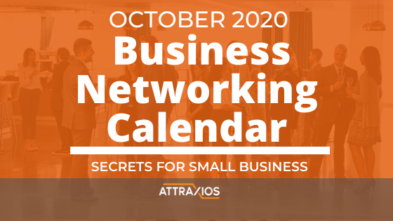 October 2020 in person business networking event list in the pensacola, fl area